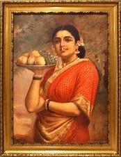 Raja Ravi Varma Art Copy - Photo Frame