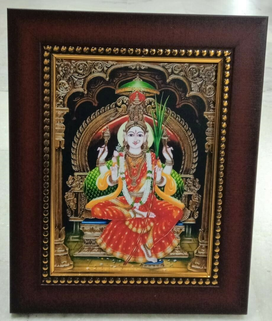 Goddess Lalitha Devi Photo Frame