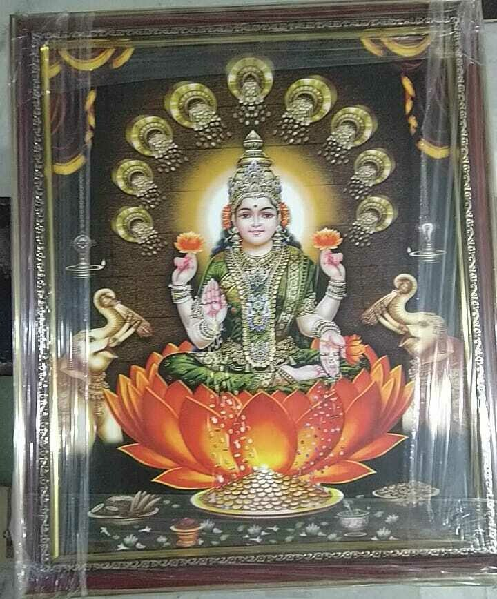 Goddess Lakshmi Devi Photo Frame
