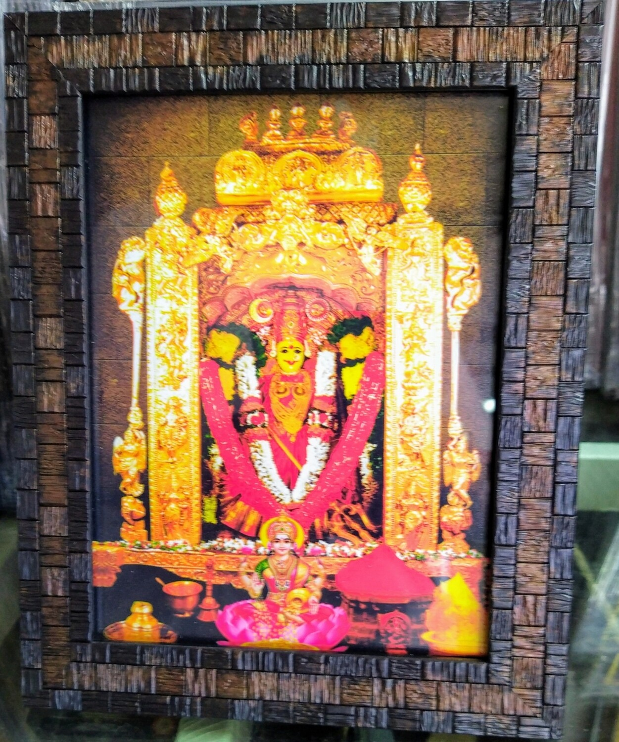 Goddess Kanakadurga Photo Frame