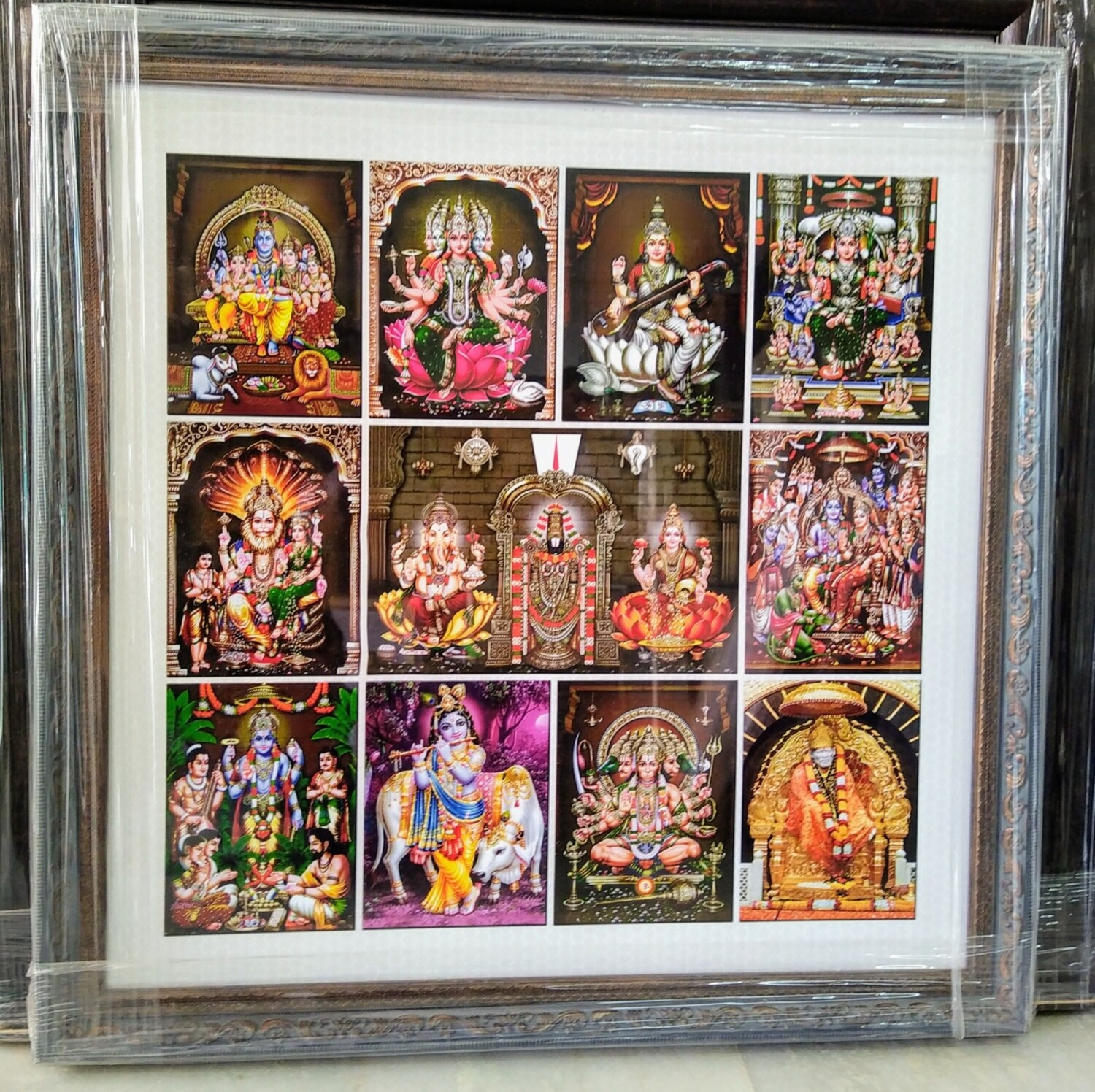All in One Hindu God images - Photoframes
