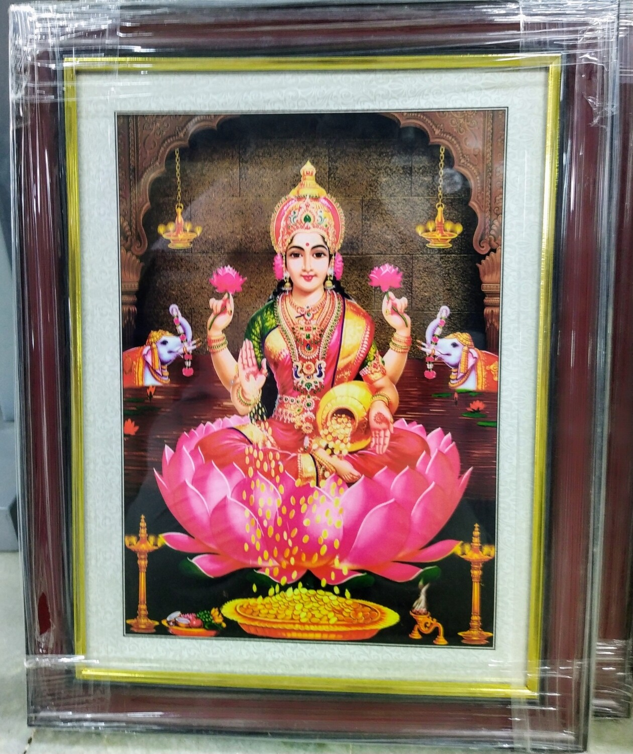 Goddess Lakshmi Photo Frame