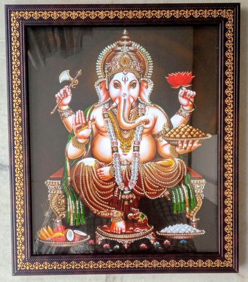 Lord Ganesh Photo Frame