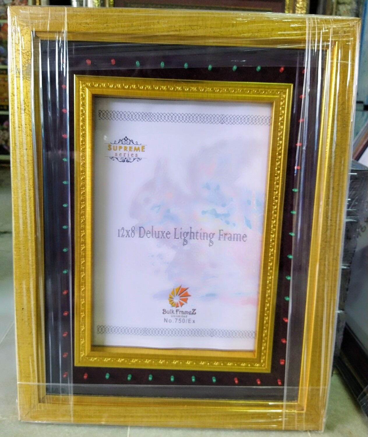 Personalized - Glitter & Lighting Photo Frames (Select Frame Size and Upload your Photo here)