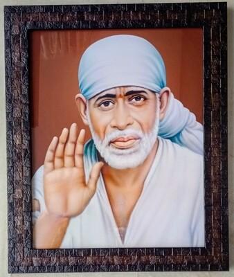 Lord Sai Baba Photo Frame