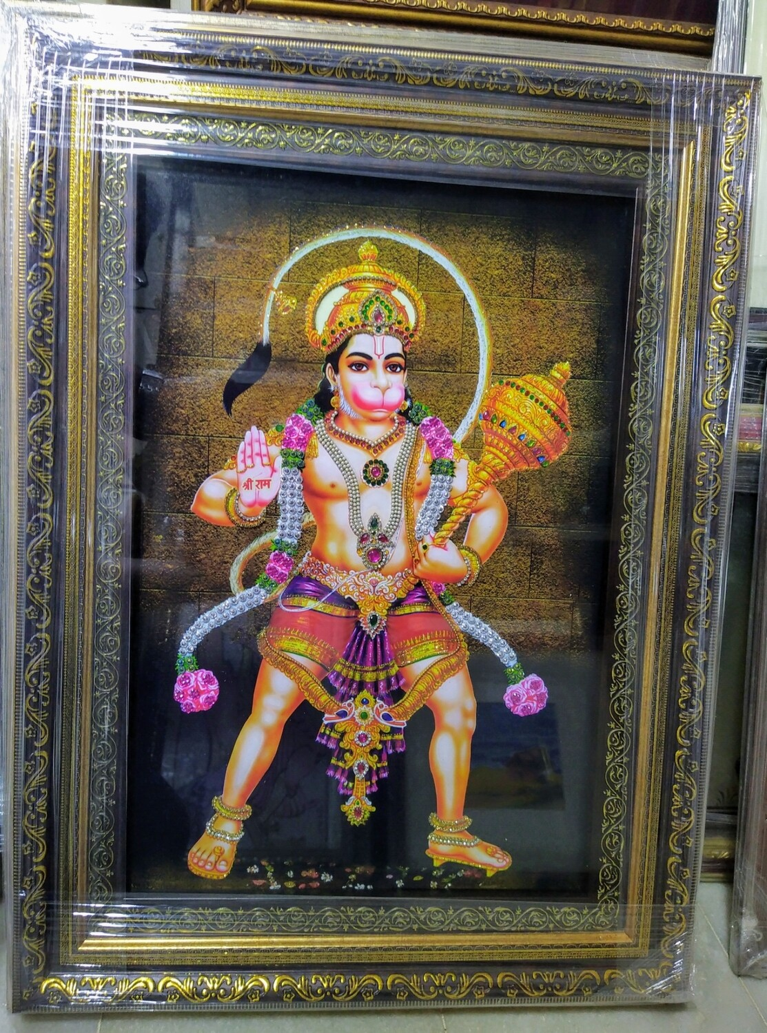 Lord Anjaneya Swamy Photo Frame