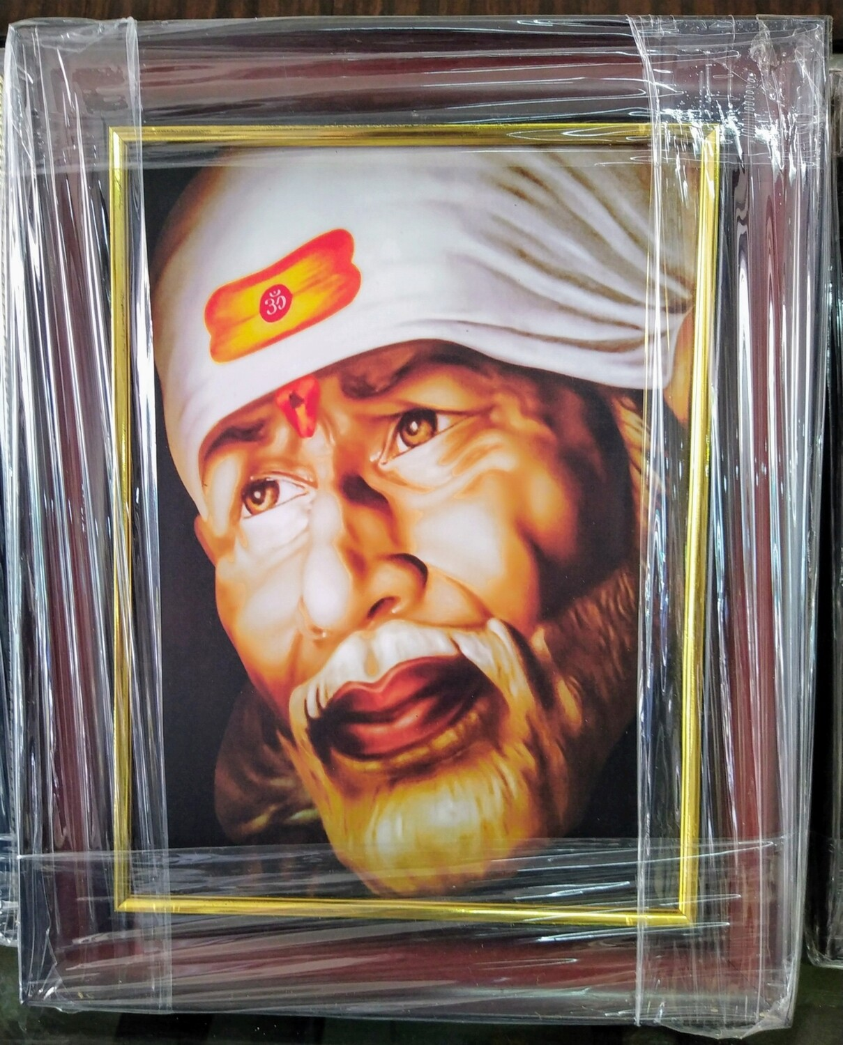 Lord Sai Baba - Matt Laminated Photo Frame