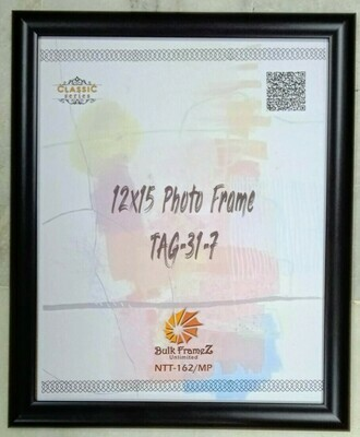 Personalized Photo Frame - Black (Select Frame Size and Upload your Photo here)