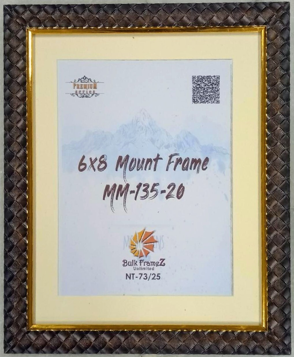 Mount Photo Frames (Select Frame Size and Upload your Photo here)