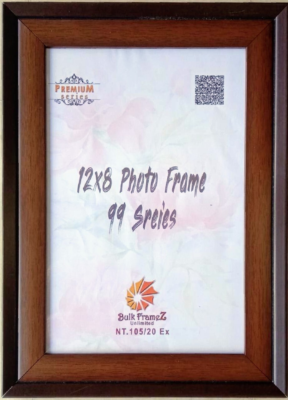 Personalized Photo Frames - Brown (Select Frame Size and Upload your Photo here)