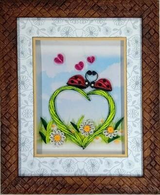 Love Wishes Decorative Photo Frame
