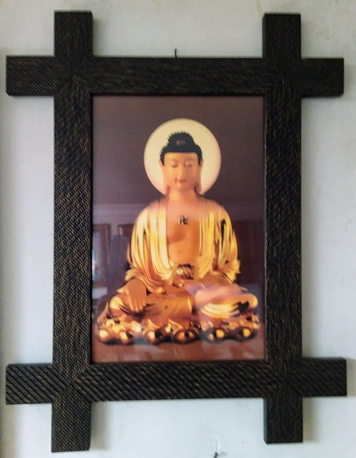 Lord Buddha - Plus Photo Frame