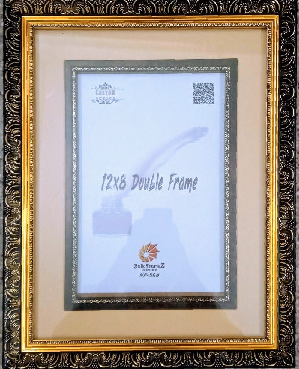 Personalized Photo Frame - Double (Select Frame Size and Upload your Photo here)