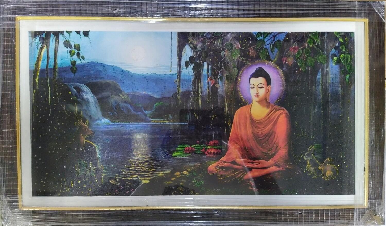 Lord Buddha - Art Copy Photo Frame