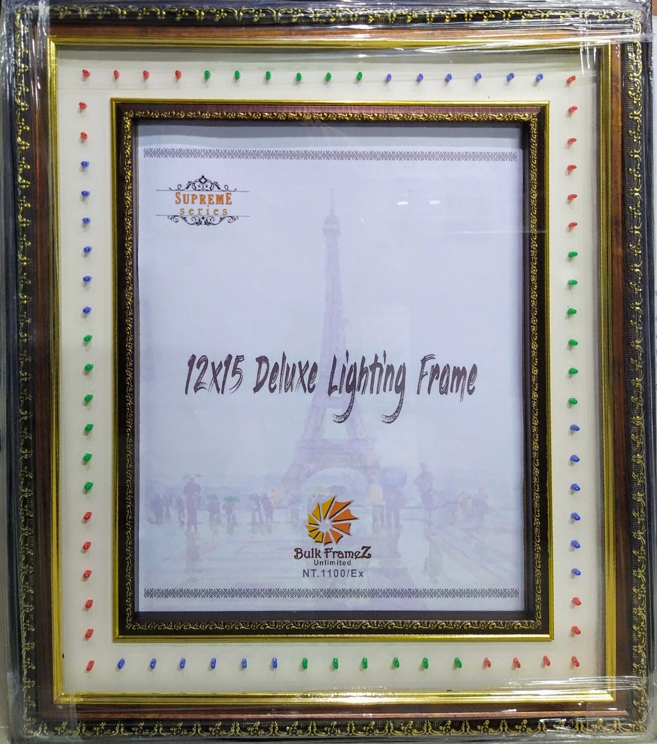 "Personalized - 12"" x 15"" Lighting Photo Frames (Select Frame Size and Upload your Photo here)"