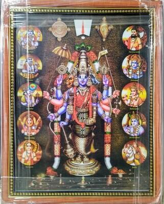 Lord Balaji Photo Frame - Dashavatar
