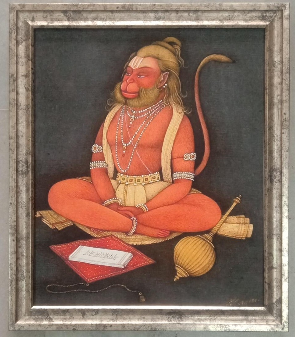Lord Anjaneya Swamy Photo Frame