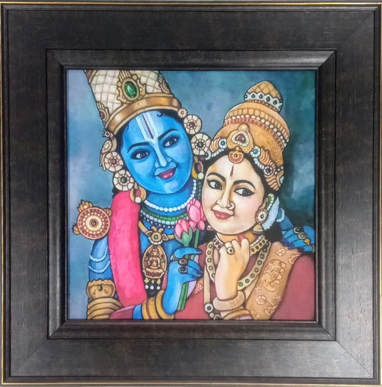 Lord Balaji - Canvas Art Copy Photo Frame