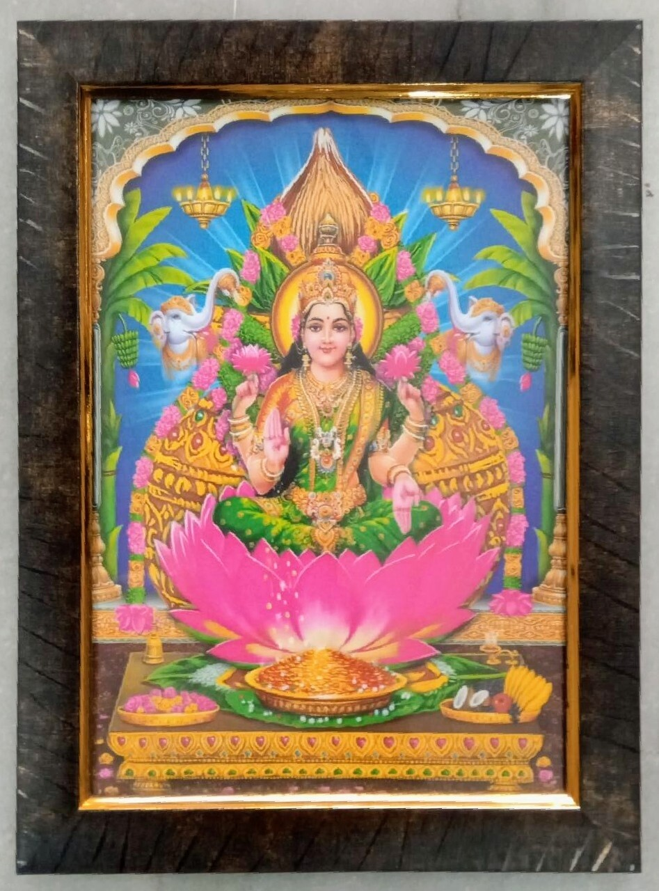 Goddess Lakshmi Photo Frame