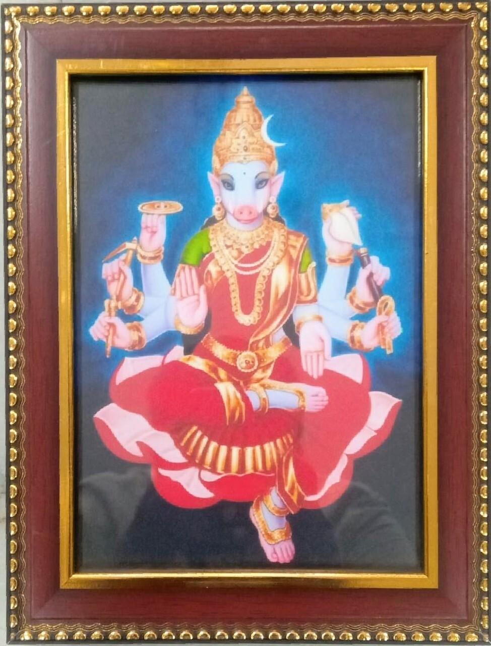 Goddess Varahi Devi Photo Frame