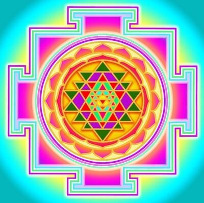 Sri Chakra Photo Frame