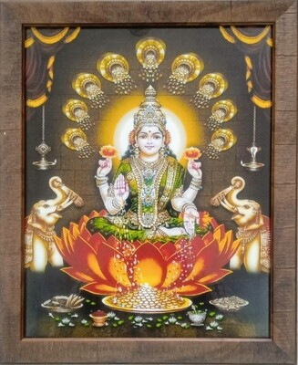 Goddess Lakshmi Devi Photo Frame