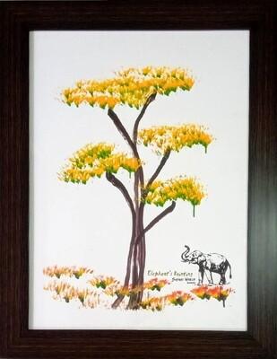 Classical Art Tree Photo Frame
