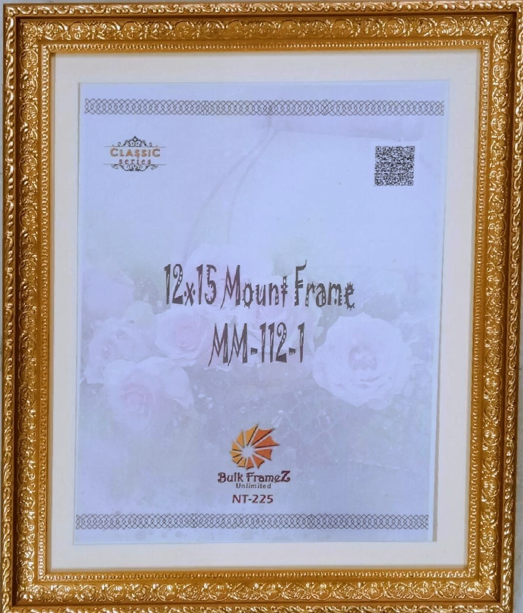 Personalized Photo Frames with Gold color lining (Select Frame Size and Upload your Photo here)