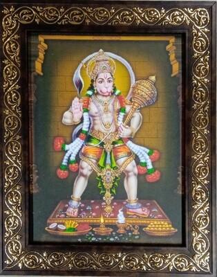 Lord Hanuman Photo Frame