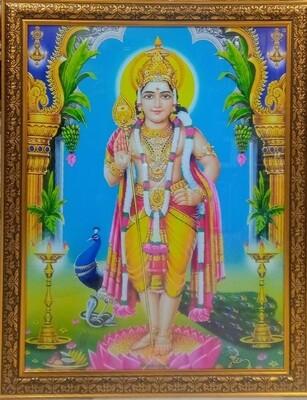 Lord Subramanya Swamy (Skanda Swamy) Photo Frame