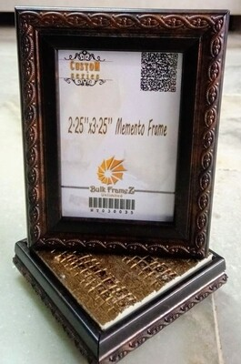 """Personalized Tabletop Momento Photoframes 2.25"""" x 3.25"""" (Upload your Photo here)"""