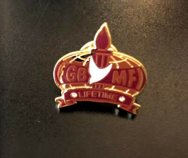 Men's Lifetime Member Lapel Pin