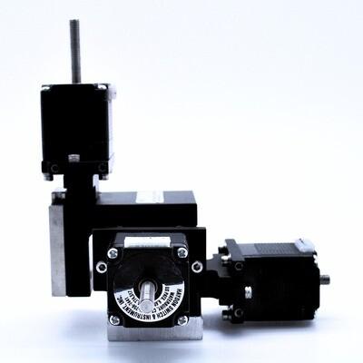 XYZ 500 Motorized Option ( MLMT, MRMT, MLMT-C) no connectors, flags or limits
