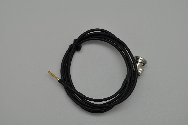BNC cable to banana pin