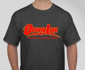 Dark Grey BowieLIVE T Shirt
