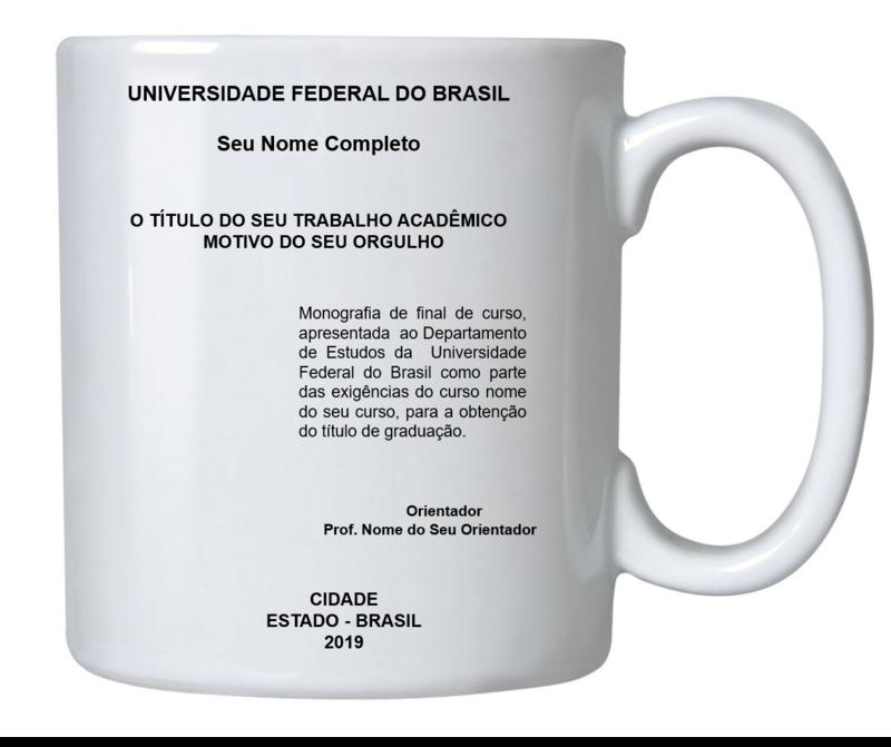 CAPA DO TRABALHO