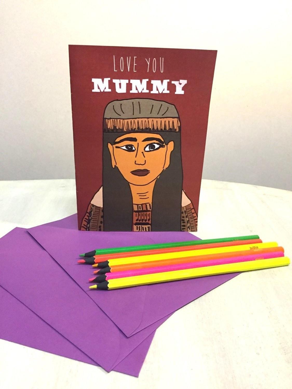 Mummy Card