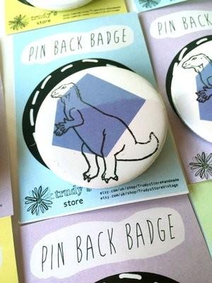 Purple Trachodon badge