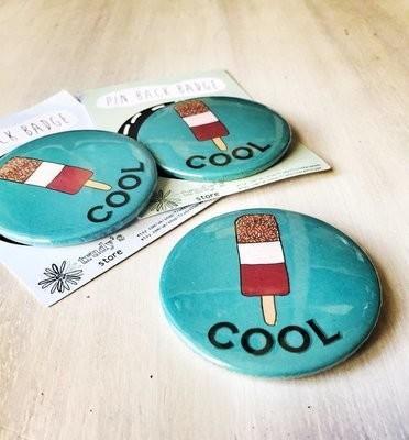 Cool lollipop badge