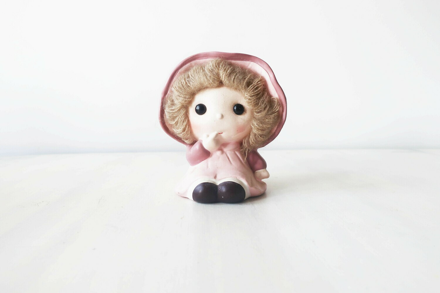 Vintage small girl money box