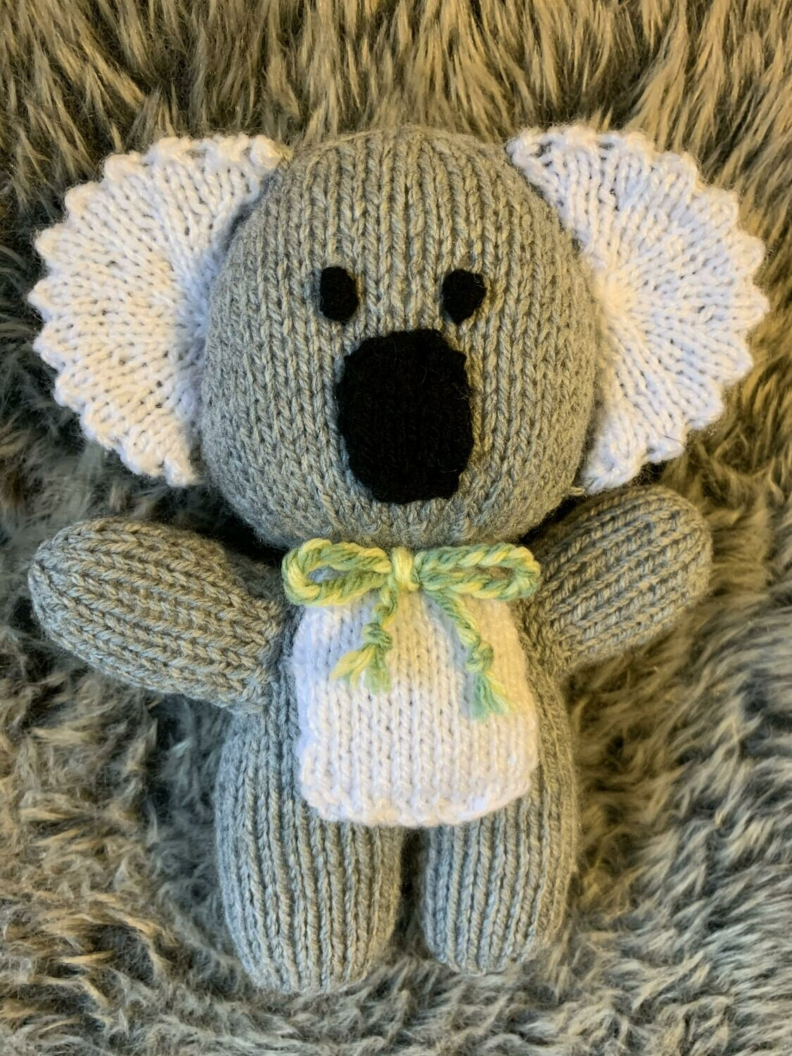 Knitted Koala Toy