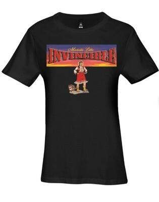 Invincible Women's Premium AS Colour T-shirt