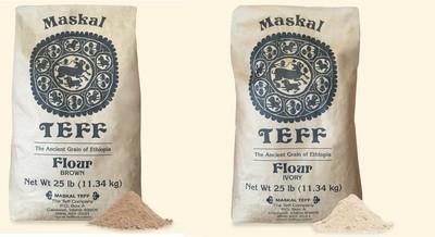 Meskal Teff flour |  የመስቀል ጤፍ ዱቄት | ነጭ ሰርገኛ ወይም ቀይ