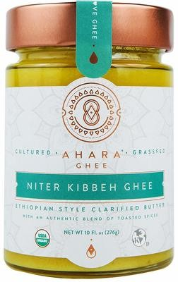 Niter Kibbeh ንጥር ቅቤ Ethiopian butter (For Lactose Intolerance)  Made in USA