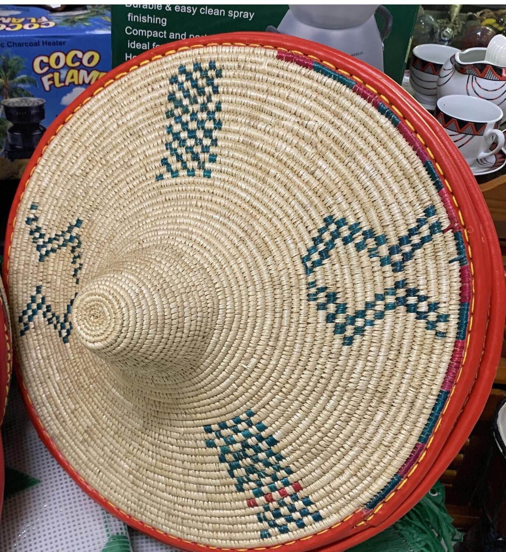 የእንጀራ መሶብ Injera Mesob Ethiopian basketwork