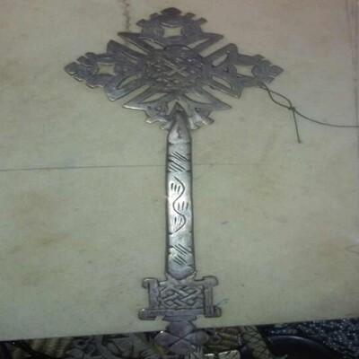 የብረት መስቀል Metal Cross