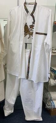 Moa Anbessa Lion of Judah Pant and shirt