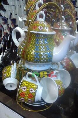 የሻይ ማቅረቢያ Tea Set