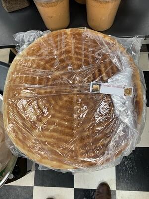 Hambasha ሀምባሻ - Circle Bread - Ethiopian Eritrean አምባሻ Ambasha
