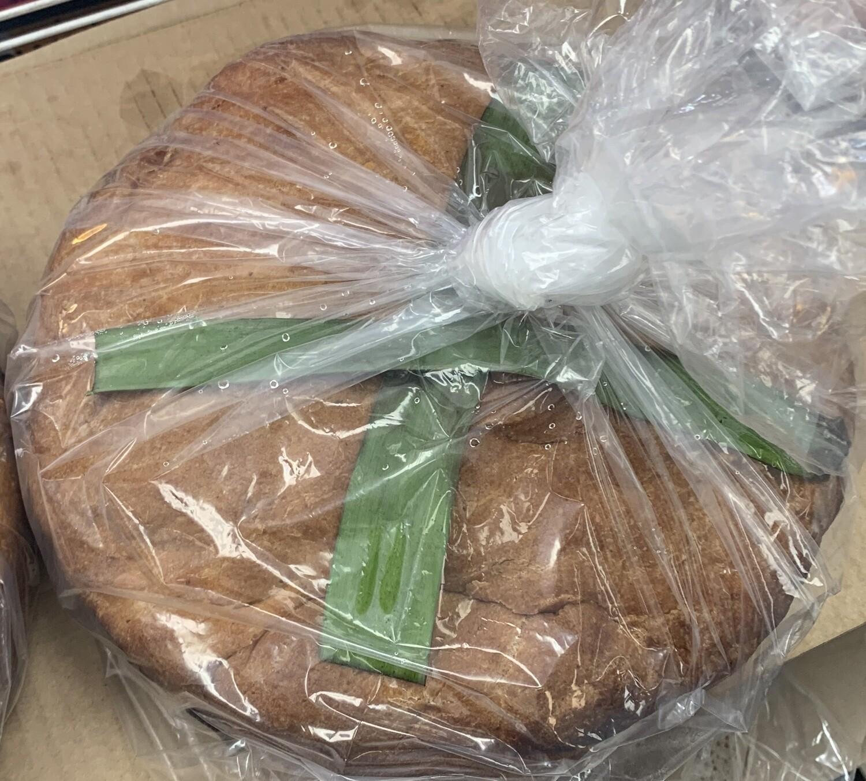 ድፎ ዳቦ ኮባ ያለው Difo Dabo Bread | False Banana leaf Whole wheat Unbleached